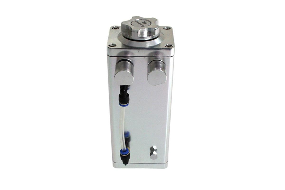 Oil catch tank 0.5L 9mm / 14 mm TurboWorks Silver - GRUBYGARAGE - Sklep Tuningowy